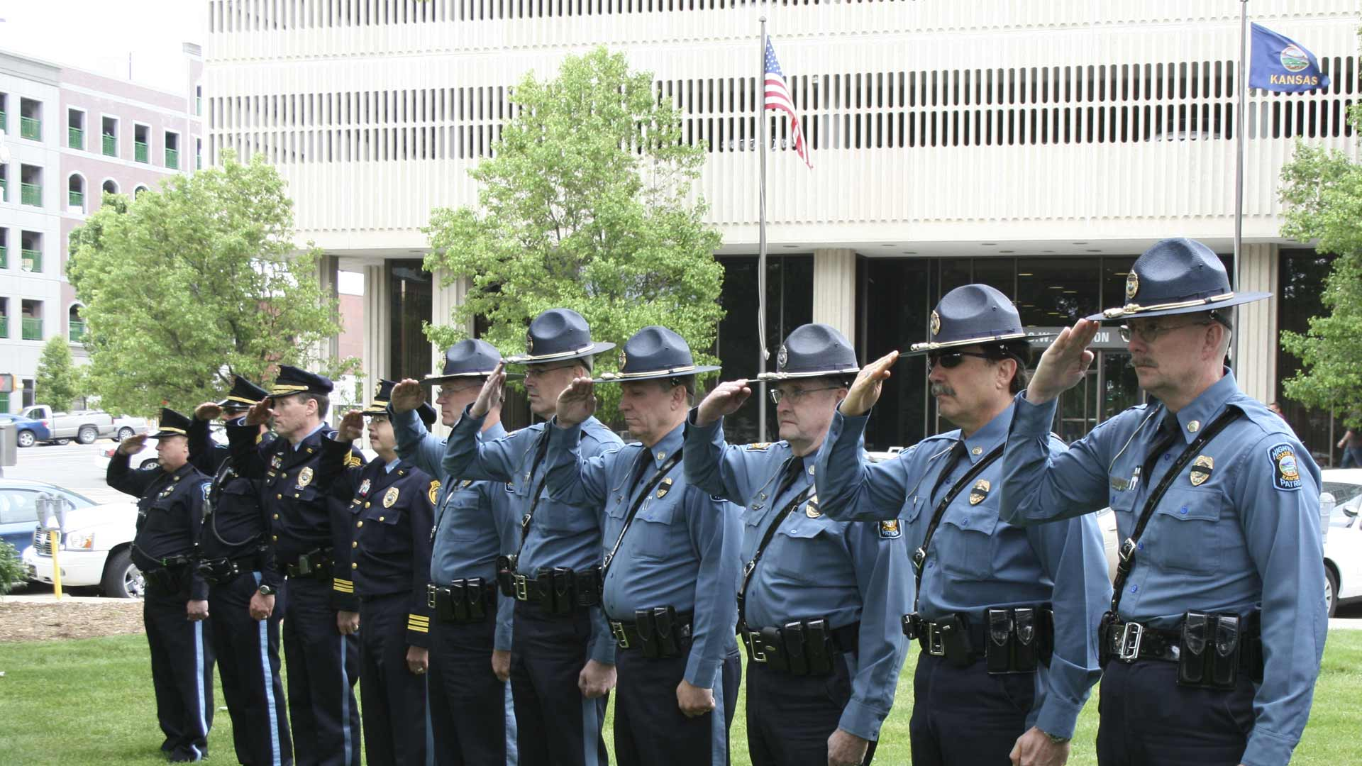 Officers salute Layer-26